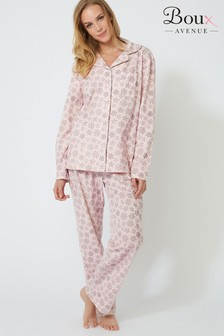 Boux Avenue Christmas Snowflake Pj Set In A Bag