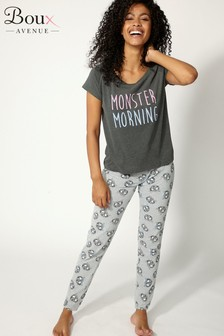 Boux Avenue Morning Monster Pyjama Set
