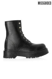 Ботинки на шнуровке Missguided