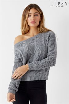 Lipsy Off The Shoulder Jumper
