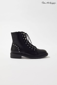 Miss Selfridge Military Biker Boots