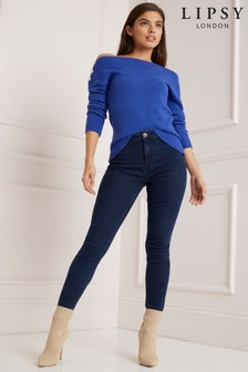 Lipsy Selena High Rise Skinny Regular Length Jean
