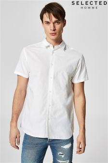 Selected Homme Linen Blend Shirt