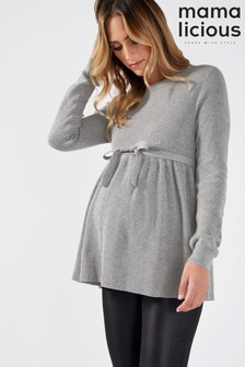 Mamalicious Maternity Knitted Long Sleeve Top