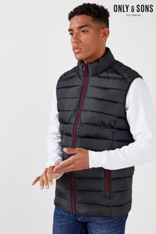 Only & Sons Padded Gilet