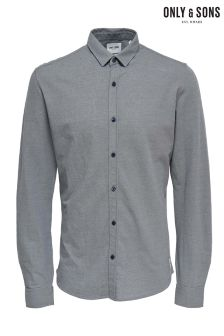 Only & Sons Knitted Melange Shirt