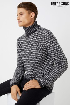 Only & Sons Turtle Neck Jumper