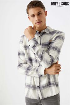 Only & Sons Flannel Check Shirt