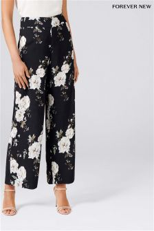 Forever New Mono Print Trousers