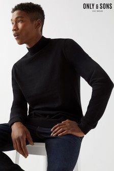Only & Sons High Neck Jumper