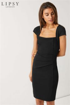 Lipsy Square Neck Bodycon Dress