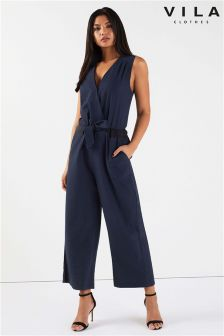 Vila Cropped Jumpsuit