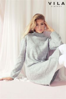 Vila Long Knitted Jumper