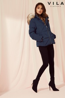 Vila Short Down Jacket