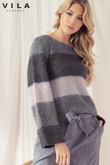 Vila Stripe Jumper