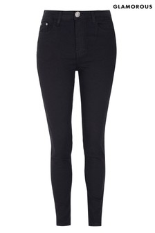 Glamorous Curve Skinny-Jeans mit hoher Taille