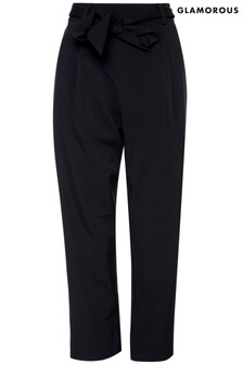 Glamorous Curve High Waisted Tailored Trousers