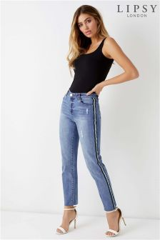 Lipsy Meghan Side Stripe Slim Leg Jean