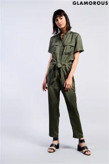 Glamorous Safari Style Jumpsuit