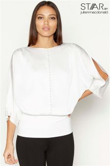 Star By Julien Macdonald Cowl Back Top