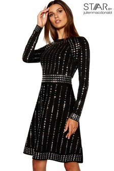 Star By Julien Macdonald Embellished Knitted Dress