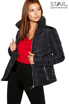 Star By Julien Macdonald Short Belted Padded Jacket