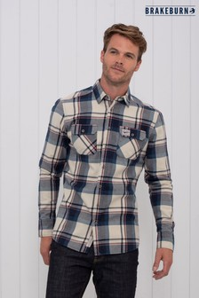Brakeburn Brushed Flannel Check Shirt