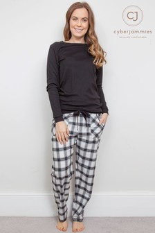 Cyberjammies Knit Top Pajama Set