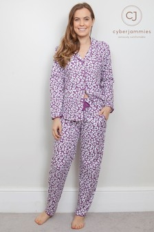 Cyberjammies Animal Print PJ Set