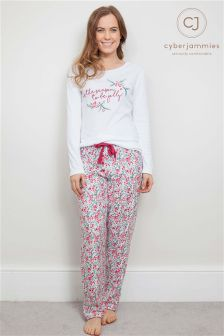 Cyberjammies Long Sleeved Pyjama Set