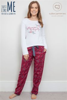 Cyberjammies Christmas Pj Set
