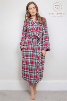 Cyberjammies Check Dressing Gown