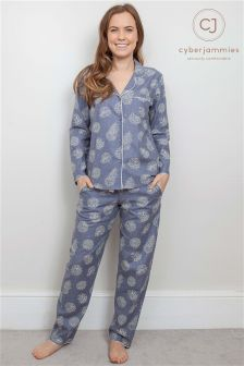 Cyberjammies Christmas Long Sleeved Pyjama Set