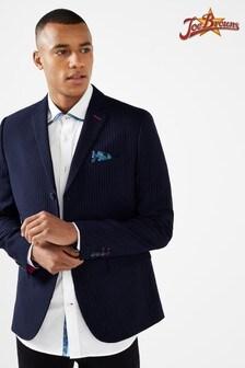 Joe Browns Mens Smart Stripe Button Up Suit Jacket