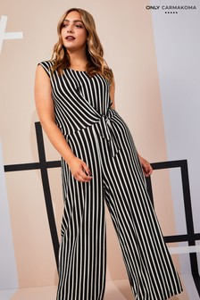 Only Carmakoma Curve Sleeveless Jumpsuit