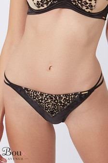 Boux Avenue Anoushka Animal Print Thong