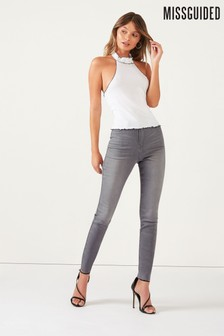 Missguided High-Waisted Supersoft Jeans