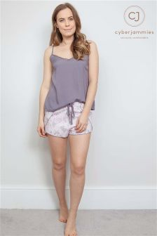 Cyberjammies Cami and Butterfly Shorts Set