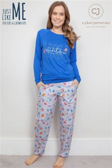 Cyberjammies Umbrella Pyjama Set