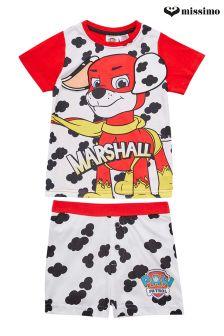 Missimo Nightwear Paw Patrol Marshall Print  PJ Set