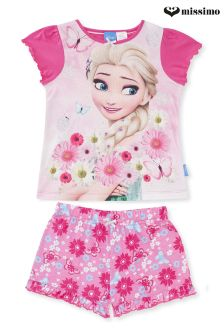 Missimo Girls Frozen Fever Print Pyjama Set