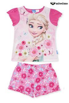 Missimo Girls Frozen Fever Print Pyjama Set