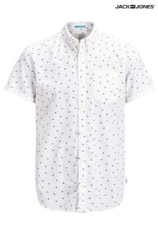 Jack & Jones Polka Dot Short Sleeve Shirt
