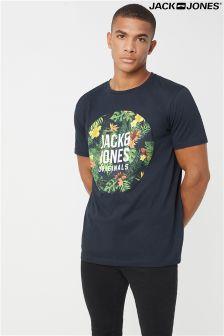 Jack & Jones T-Shirt with Printed Brand Logo