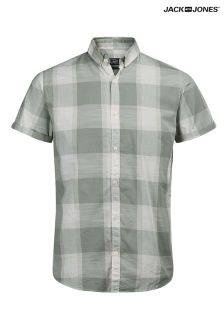 Jack & Jones Check Short Sleeve Shirt
