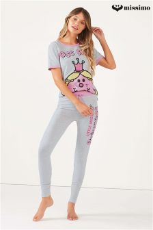 Missimo Nightwear Boss Babe Print Top and Leggings PJ Set