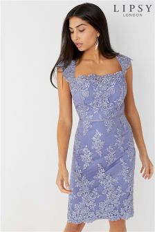 Lipsy Lace Corset Bodycon Dress