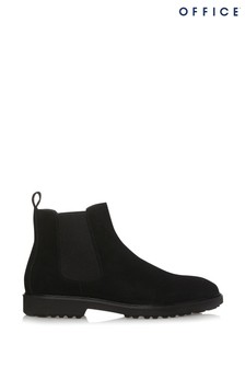 Office Suede Chelsea Boots