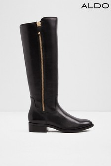 Aldo Leather High Leg Boots