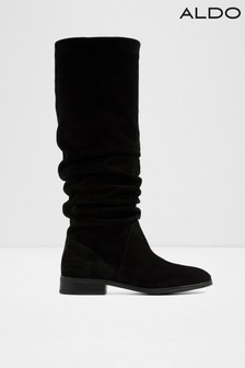 1597985ae11 Aldo Knee High Flat Slouch Leather Boots